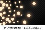 many random falling golden...   Shutterstock .eps vector #1116885683