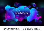colorful geometric background... | Shutterstock .eps vector #1116974813