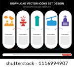 5 vector icons such as flowers  ...   Shutterstock .eps vector #1116994907