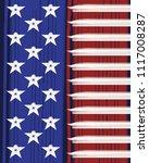 american flag poster... | Shutterstock .eps vector #1117008287