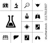 biology icon. collection of 13...   Shutterstock .eps vector #1117013507