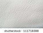 photo of white leather background - stock photo