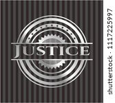 justice silvery emblem | Shutterstock .eps vector #1117225997