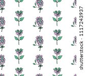 seamless floral pattern... | Shutterstock .eps vector #1117243937