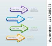 infographics business design...   Shutterstock .eps vector #1117288373