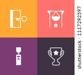 modern  simple vector icon set... | Shutterstock .eps vector #1117292597
