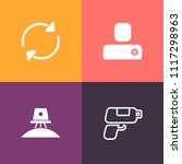 modern  simple vector icon set...   Shutterstock .eps vector #1117298963