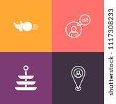 modern  simple vector icon set...   Shutterstock .eps vector #1117308233