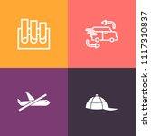 modern  simple vector icon set... | Shutterstock .eps vector #1117310837