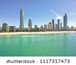 surfers paradise from above | Shutterstock . vector #1117317473