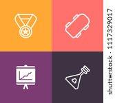 modern  simple vector icon set...   Shutterstock .eps vector #1117329017