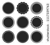 vintage grunge stamps. set of... | Shutterstock .eps vector #1117339763