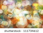 Blurred abstract pattern - circle light photo background - stock photo