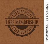 free membership retro style... | Shutterstock .eps vector #1117362827