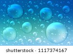 light blue  green vector... | Shutterstock .eps vector #1117374167