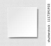 white banner isolated... | Shutterstock .eps vector #1117391933