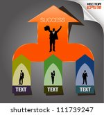 for success vector  can use for ... | Shutterstock .eps vector #111739247