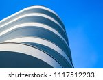 abstract modern architecture... | Shutterstock . vector #1117512233