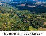 landscape with beautiful green...   Shutterstock . vector #1117525217