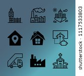 vector icon set about building...   Shutterstock .eps vector #1117533803