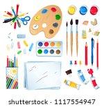 top view vector illustration...   Shutterstock .eps vector #1117554947