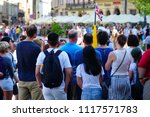 cracow krakow poland   27 may...   Shutterstock . vector #1117571783