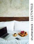 laptop  smartphone and...   Shutterstock . vector #1117747013
