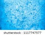 textured ice blue frozen rink... | Shutterstock . vector #1117747577