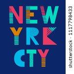 t shirt graphics  tee print... | Shutterstock .eps vector #1117798433