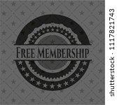 free membership realistic dark... | Shutterstock .eps vector #1117821743