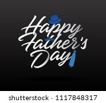 happy father s day... | Shutterstock .eps vector #1117848317