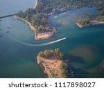 aerial shot of the tropical... | Shutterstock . vector #1117898027