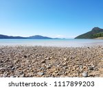 view from the coast to islands... | Shutterstock . vector #1117899203