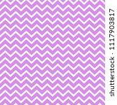 Chevron Seamless Pattern - Bold pink and white chevron or zig zag pattern | Shutterstock vector #1117903817