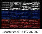russia state flag collage made... | Shutterstock .eps vector #1117907207