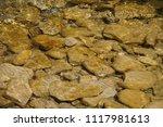 clean mountain river   stones | Shutterstock . vector #1117981613