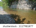 clean mountain river  stream | Shutterstock . vector #1117981877
