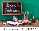 back to school | Shutterstock . vector #1118006267