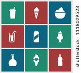 refreshment icon. collection of ... | Shutterstock .eps vector #1118029523