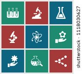 scientific icon. collection of...   Shutterstock .eps vector #1118030627