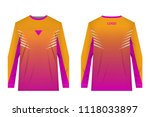 templates jersey for mountain... | Shutterstock .eps vector #1118033897
