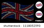 waving great britain state flag ... | Shutterstock .eps vector #1118052593