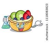 professor fruit tart character... | Shutterstock .eps vector #1118083823