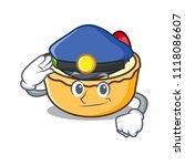 police fruit tart character... | Shutterstock .eps vector #1118086607