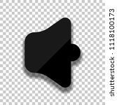 simple volume max. black glass...