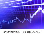 analysing stock market data on... | Shutterstock . vector #1118100713