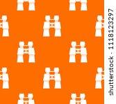 compass pattern repeat seamless ... | Shutterstock . vector #1118123297