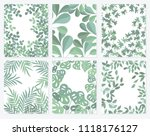 vector collection of posters... | Shutterstock .eps vector #1118176127