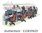 office | Shutterstock .eps vector #111819623