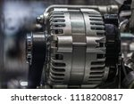 car engine close up | Shutterstock . vector #1118200817